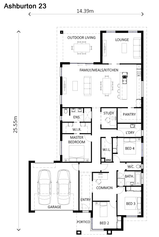 Ashburton Floor Plan