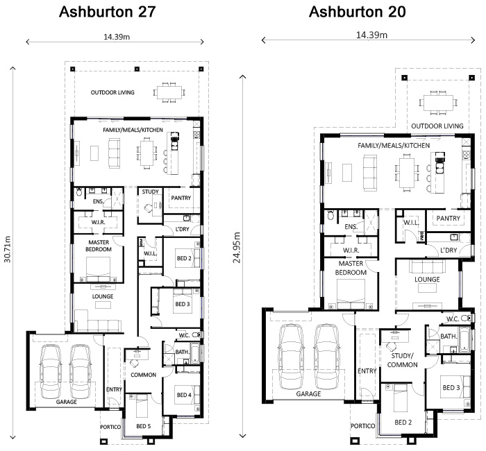 Ashburton 20 & 27 Floor Plan