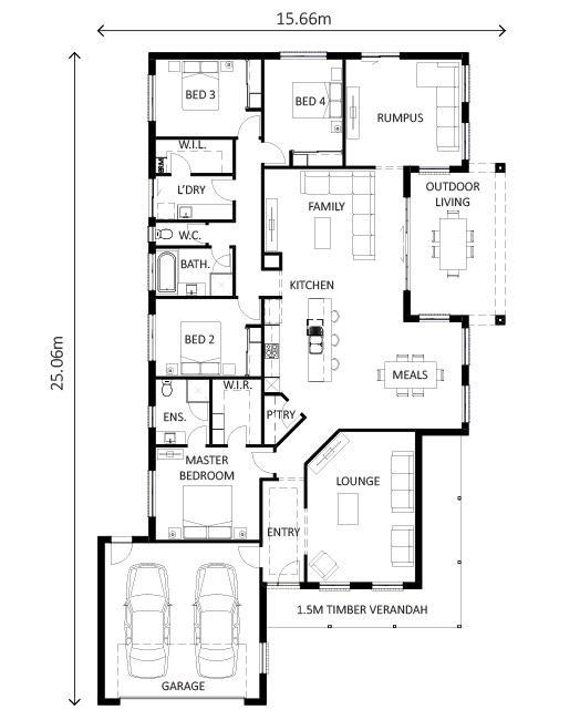 Benambra Floor Plan