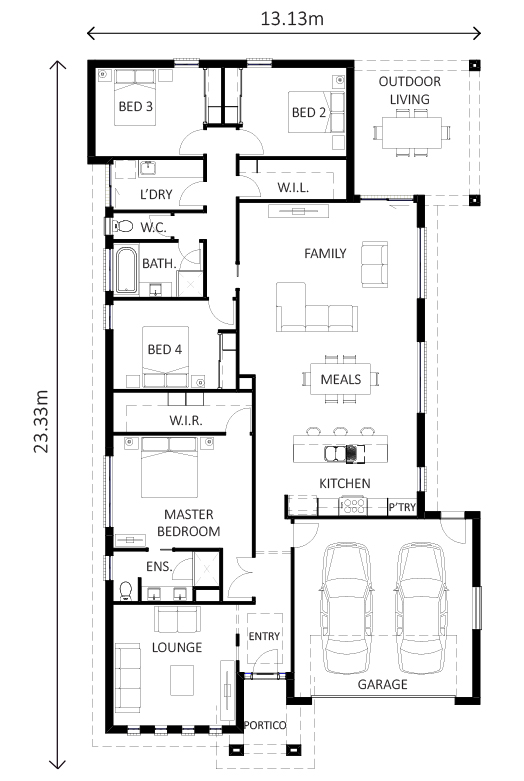 Jamieson Floor Plan