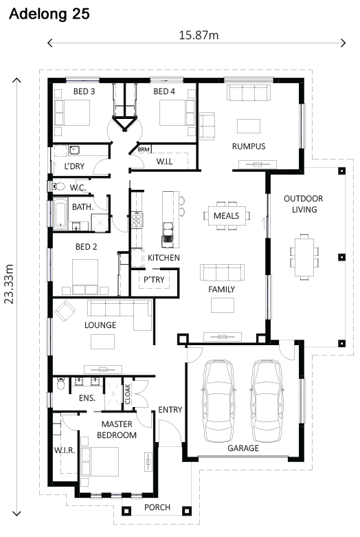 Adelong Floor Plan